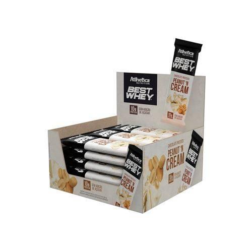 Chocolate Proteico Best Whey 12un - Peanut 'N Cream