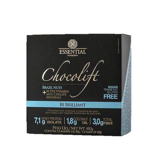 Chocolift Be Brilliant (480g) Castanha - Essential Nutrition