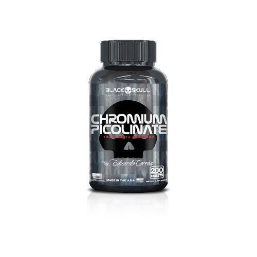 Chromium Picolinate 200 Tab - Black Skull