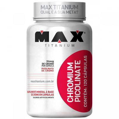 Chromium Picolinate 120 Cápsulas Max Titanium