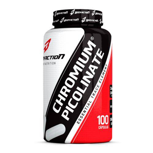 Chromium Picolinate - 100 Cápsulas - Body Action