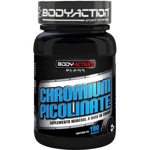Chromium Picolinate (100 Cápsulas) - BodyAction
