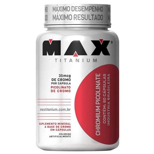 Chromium Picolinate 60 Caps - Max Titanium