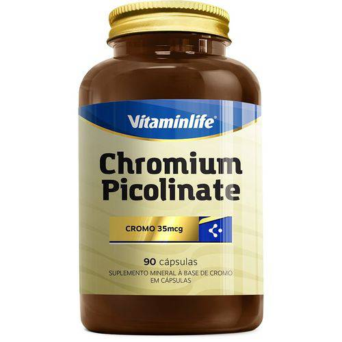 Chromium Picolinate (90 Caps) - Vitaminlife