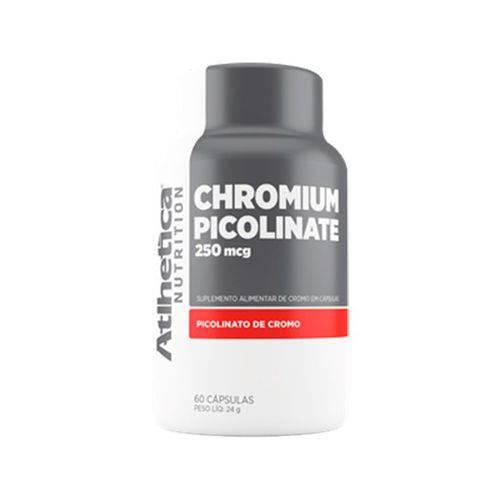 Chromium Picolinate Cromo 250mcg - 60 Cápsulas - Atlhetica