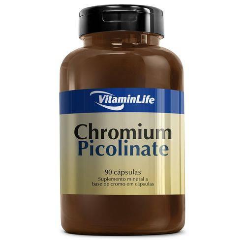 Chromium Picolinate (picolinato de Cromo) 90 Cápsulas Vitaminlife