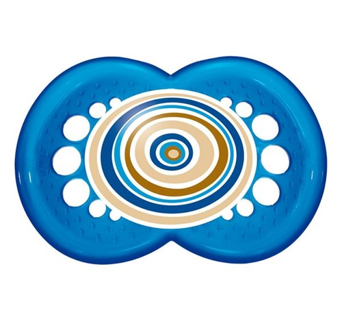 Chupeta Circles 6m+ Azul Mam
