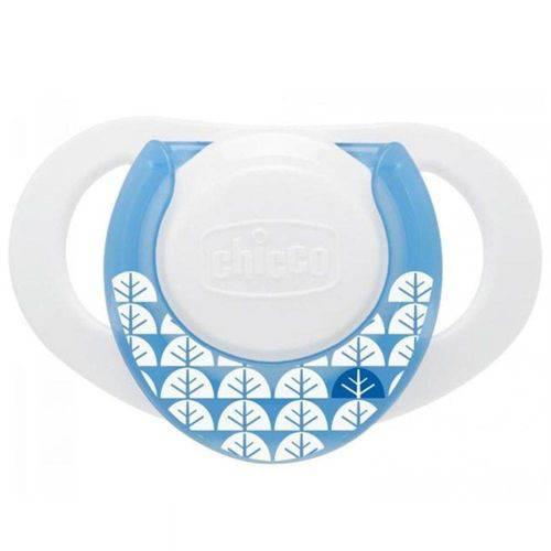 Chupeta Compact Azul Silicone Tam 1 (0-6m) - Chicco