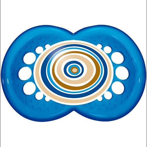 Chupeta MAM Circles Silk Touch Boys Azul Escuro