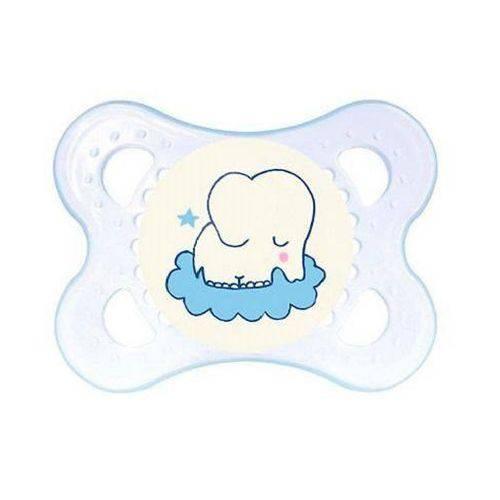 Chupeta MAM Mini Night Boys Elefante 0 Á 6m Azul