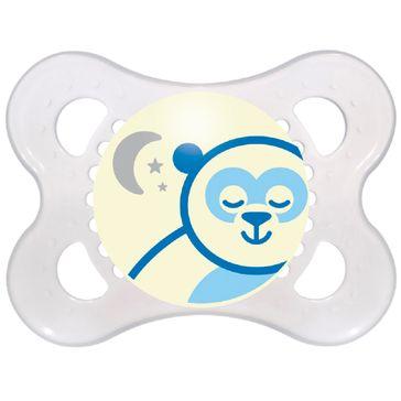 Chupeta MAM Night Silk 0 - 6 1 Unidade Azul