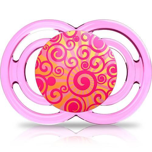 Chupeta MAM Perfect 6 + Bico Silk Touch Rosa - MAM