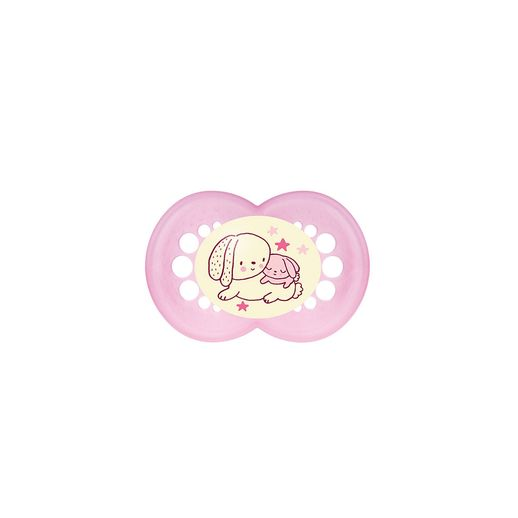 Chupeta Night Silk Touch Girls - MAM Baby