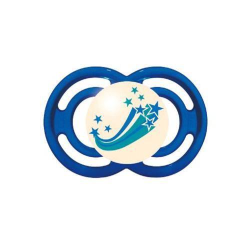 Chupeta Perfect Night Azul 6+ Meses - MAM