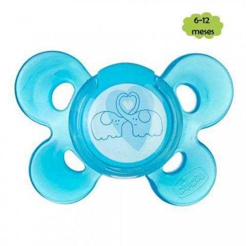 Chupeta Physio Comfort 6-12meses Azul Chicco