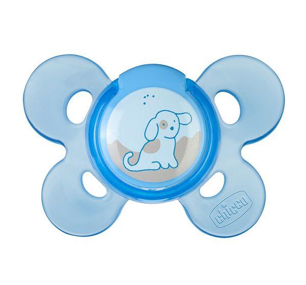 Chupeta Physio Comfort Azul Tam 1 Chicco
