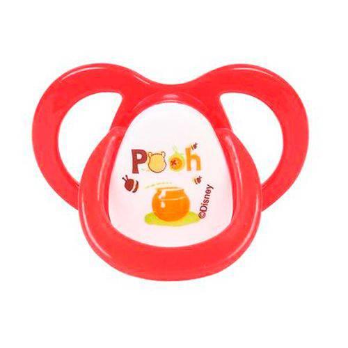 Chupeta Ventilada Fase Nº 2 Ortodôntica Pooh Disney