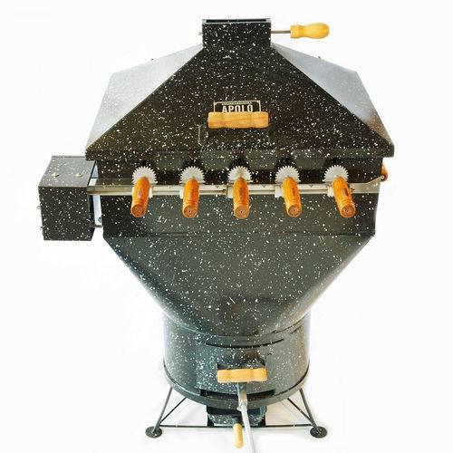 Churrasqueira a Bafo Gás ou Carvão 220V Apolo 5 Plus Preto