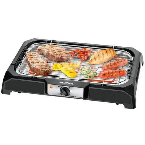 Churrasqueira Elétrica Grand Steak e Grill Mondial 220V