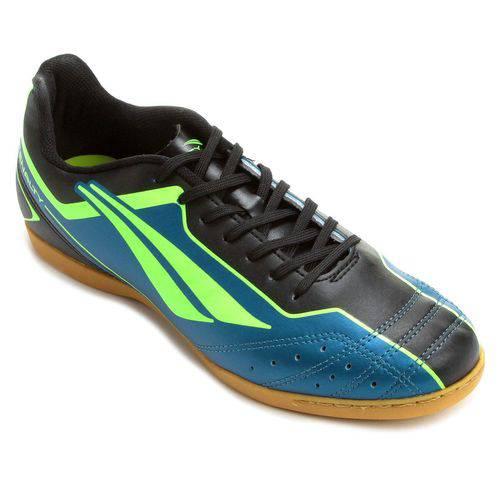 Chuteira Futsal Penalty Matis Vi Masculino - Azul/verde