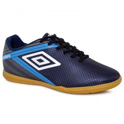 Chuteira Futsal Umbro Drako Adulto - Azul Escuro