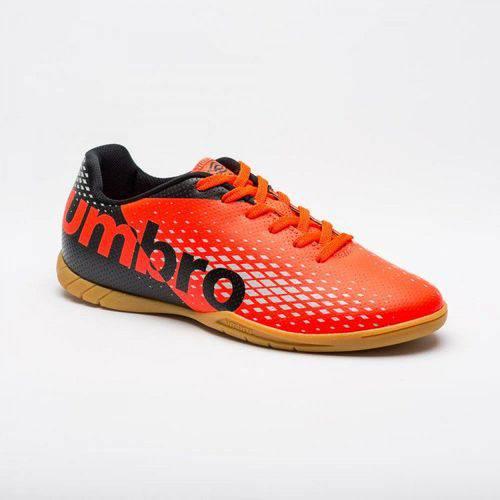 Chuteira Futsal Umbro Innverse Adulto - Preto/coral