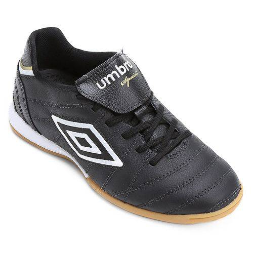 Chuteira Futsal Umbro Speciali Premier Masclino - Preto/branco