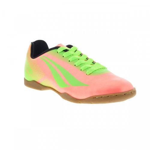 Chuteira Infantil Futsal Penalty Victoria 5 126039 Coral
