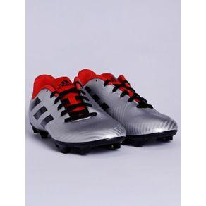 Chuteira Masculina Adidas Artilheira Iii Cinza/vermelho 37