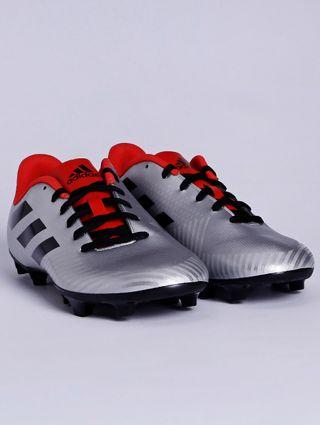 Chuteira Masculina Adidas Artilheira Iii Cinza/vermelho