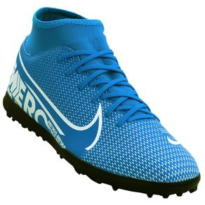 Chuteira Nike Superfly 7 Club Tf Azul 38