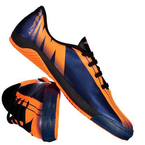 Chuteira Penalty Attom VIII Futsal Juvenil Laranja - Penalty - Penalty