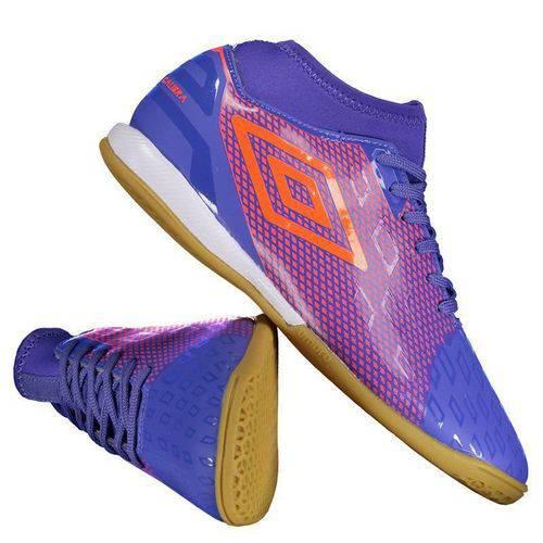 Chuteira Umbro Calibra II Futsal Roxa