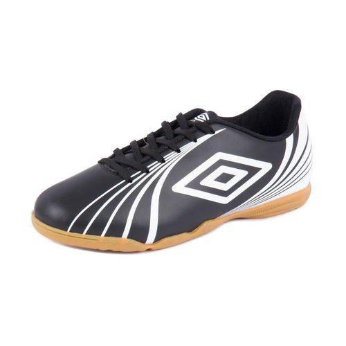 Chuteira Umbro Futsal Indoor Sprint Preto/Branco