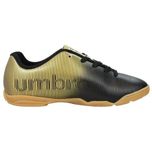Chuteira Vibe Jr - Umbro - 36 - Preto/Dourado