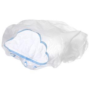Chuvisco Touca Banho C/ventosa Branco Translucido Multicor