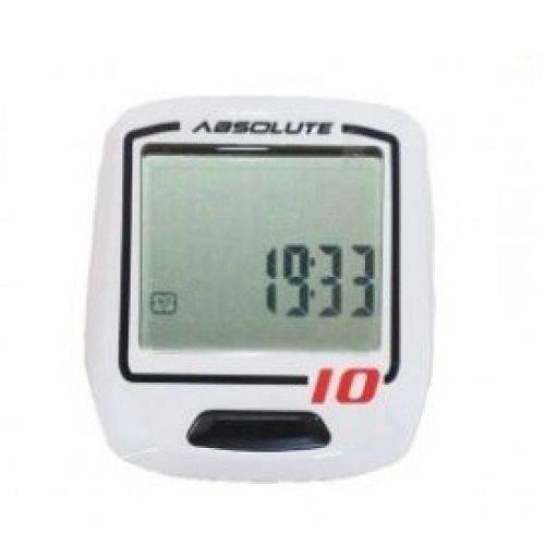 Ciclocomputador Absolute Irix 10 Branco com Fio