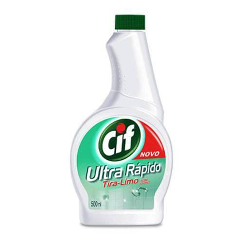 Cif Tira Limo C/ Cloro Refil 500ml