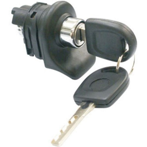 Cilindro Miolo com Chave Puxador Externo Porta Malas Mecânica Ap - Un21792 Fox