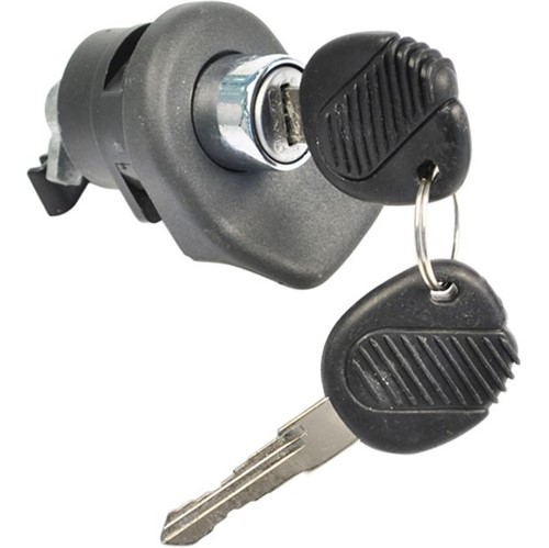 Cilindro Miolo com Chave Puxador Externo Porta-malas Mecânica Cinza Pm - Un20180 Gol
