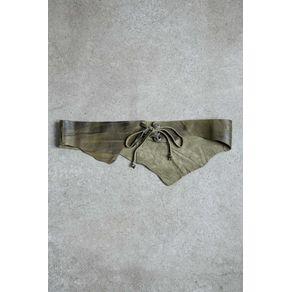 Cinto Cartucheira Lavado Verde Noir - P