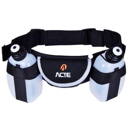 Cinturão de Hidratação ACTE com 2 Garrafas C8