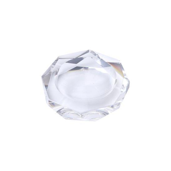Cinzeiro de Cristal Redondo 10 X 10 X 2,7cm