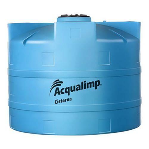 Cisterna para Rede Pública 2800L 220V Azul Acqualimp