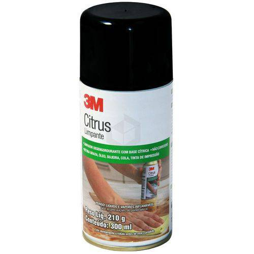 Citrus Limpante Spray 210gr 3m