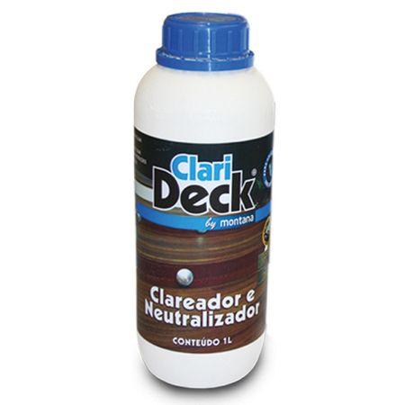 Clarideck Clareador e Neutralizador 1 Litro Neutralizador