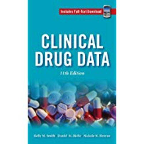 Clinical Drug Data [With Access Code]