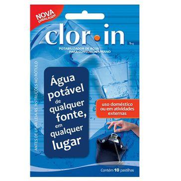 Clor-In 1 Acuapura 10 Comprimidos