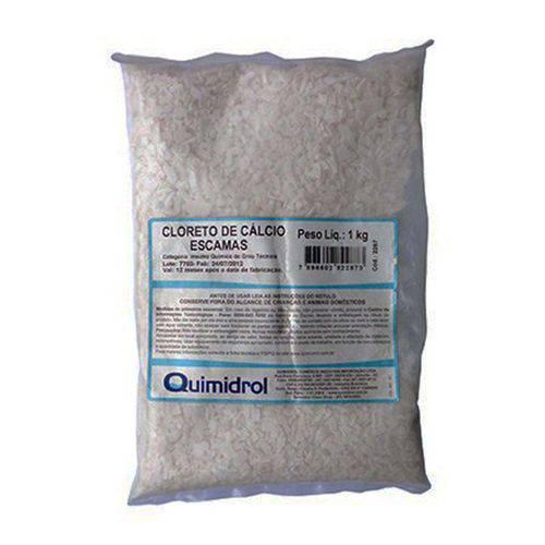 Cloreto de Cálcio Escamas 1000 Grs Quimidrol