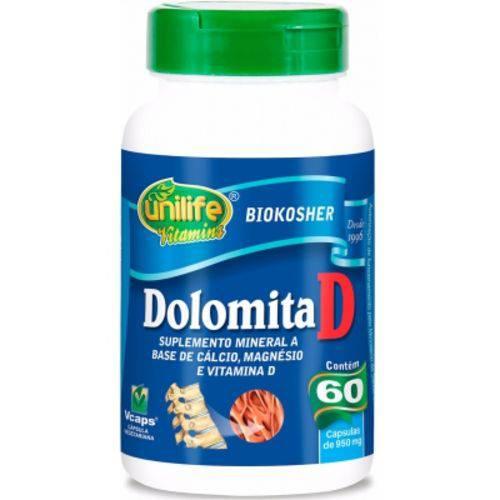 Dolomita com Vitamina D 60 Cápsulas